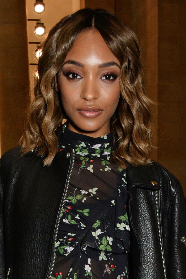 "<strong>Jourdan Dunn<strong> <br><br> ""If I have been wearing a lot of make-up I'll double cleanse with a cleansing foam to make sure that there's no more traces of dirt on my skin. I like Tata Harper's purifying cleanser."" <br><br> <em><a href=""https://www.net-a-porter.com/au/en/product/560186?cm_mmc=ProductSearchAU_PLA_c-_-Tata%20Harper-_-Beauty-Skincare-Face-_-145718689030_560186-005&gclid=Cj0KEQjwosK4BRCYhsngx4_SybcBEiQAowaCJZM2PUJELDVVCMdvHd4D0EmzVmwfrRUvVSFcCuW-p2AaAsNs8P8HAQ"">Tata Harper Purifying Cleanser</a>, AUD $87</em>"