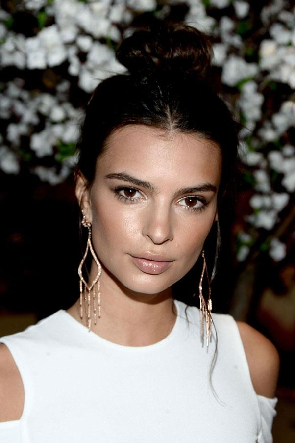 "<strong>Emily Ratajkowski</strong> <br><br> ""I love Aquaphor. I use it on my lips, or a little bit everywhere just to make sure my skin doesn't dry at all because aeroplanes are terrible for that."" <br><br> <em><a href=""http://www.sempleandsemple.com/uk/eucerin-aquaphor-skin-repairing-balm-40g.html?currency=AUD&gclid=Cj0KEQjwosK4BRCYhsngx4_SybcBEiQAowaCJf12GQl6wkbRDtyE-GgRvFLvvE-BwSJ4NbSXApdlrw8aAopI8P8HAQ"">Eucerin Aquaphor Soothing Skin Balm</a>, AUD $15</em>"