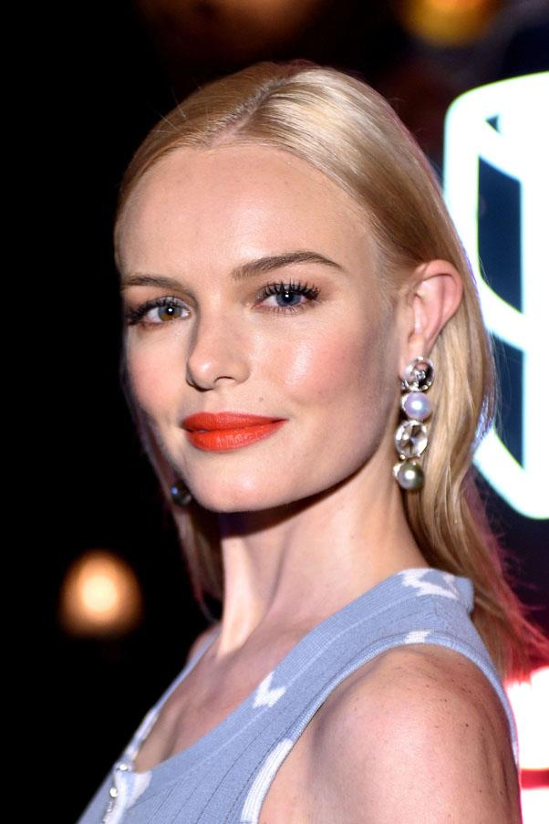 "<strong>Kate Bosworth</strong> <br><br> ""I love SK-II's sheet mask. It tightens, it brightens — it makes my face look like it's had a good night's sleep, when I could have had no sleep. It's the best quick fix I've come across for skin."" <br><br> <em><a href=""https://www.net-a-porter.com/au/en/product/441281?cm_mmc=LinkshareUK-_-QFGLnEolOWg-_-Custom-_-LinkBuilder&siteID=QFGLnEolOWg-7UawqBKdBksLn27xArG3Fw"">SK-II Facial Treatment Mask</a>, AUD $108</em>"