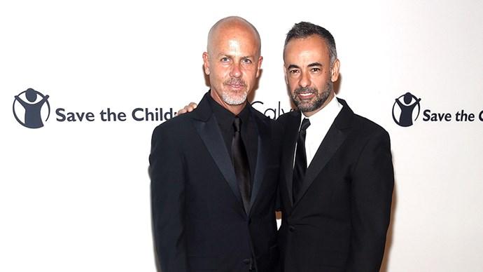 Francesco Costa and Italo Zucchelli Calvin Klein