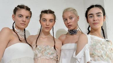 Beauty Inspiration: From the Spring 2017 Bridal Runways