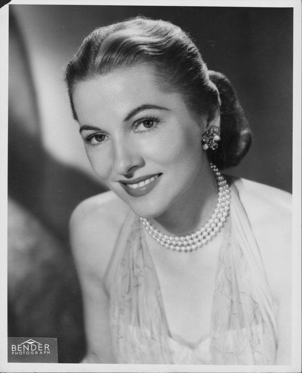 <strong>1948: ELEGANT UPDOS</strong> <br><br> As the result of an emphasis on mimicking actresses like Joan Fontaine and Lana Turner, stylish women opted for glamorous hairstyles like thick, polished chignons, sometimes accessorising them with clips or pins.