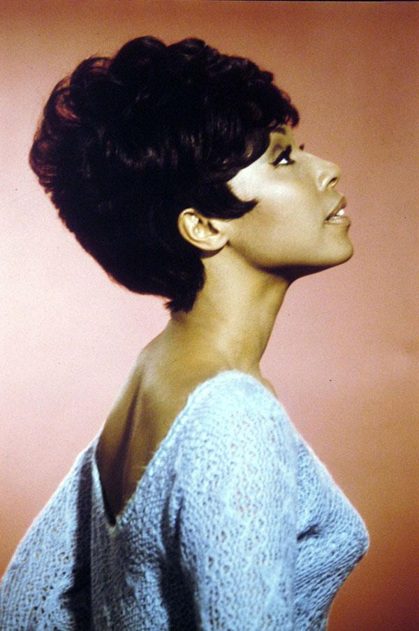 <strong>1969: MODERN BOUFFANT</strong> <br><br> Starring in Julia, a role that made her the first black actress to have her own TV show, Diahann Carroll helped propel this chic, voluminous style to popularity.
