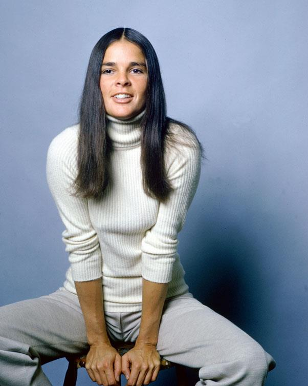 <strong>1970: LONG AND CENTER-PARTED</strong> <br><br> After 1970's Love Story starring Ali MacGraw and Ryan O'Neal became the hit of the year, women started rocking center-parted straight styles.