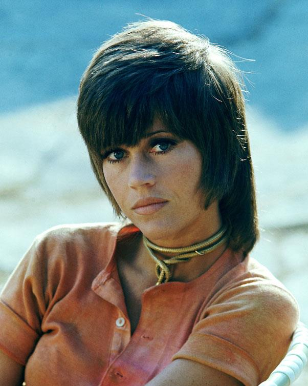 <strong>1971: THE SHAG</strong> <br><br> After hairstylist Paul McGregor cut Jane Fonda's hair into this funky short-and-long style for the 1971 film Klute, women began asking their own hairdressers for this unisex look.