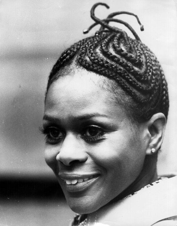 <strong>1973: CORNROWS</strong> <br><br> Actress Cicely Tyson once again inspired a beauty trend by wearing her hair in cornrows for her role in Sounder, leading the braided style into popularity.