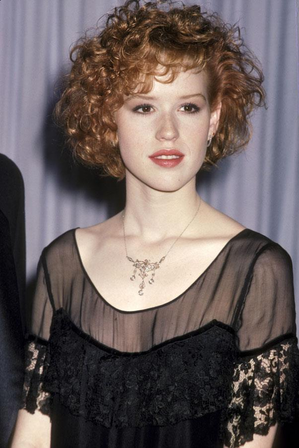 <strong>1987: RED RINGLETS</strong> <br><br> When Molly Ringwald showed up with her glorious mess of red curls, the world fell in love.