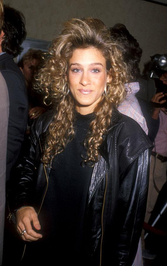 <strong>1988: FEATHERED BANGS</strong> <br><br> Among other stars, Sarah Jessica Parker rocked this incredibly '80s do, inspiring American women to follow suit by teasing their bangs and perming their locks.