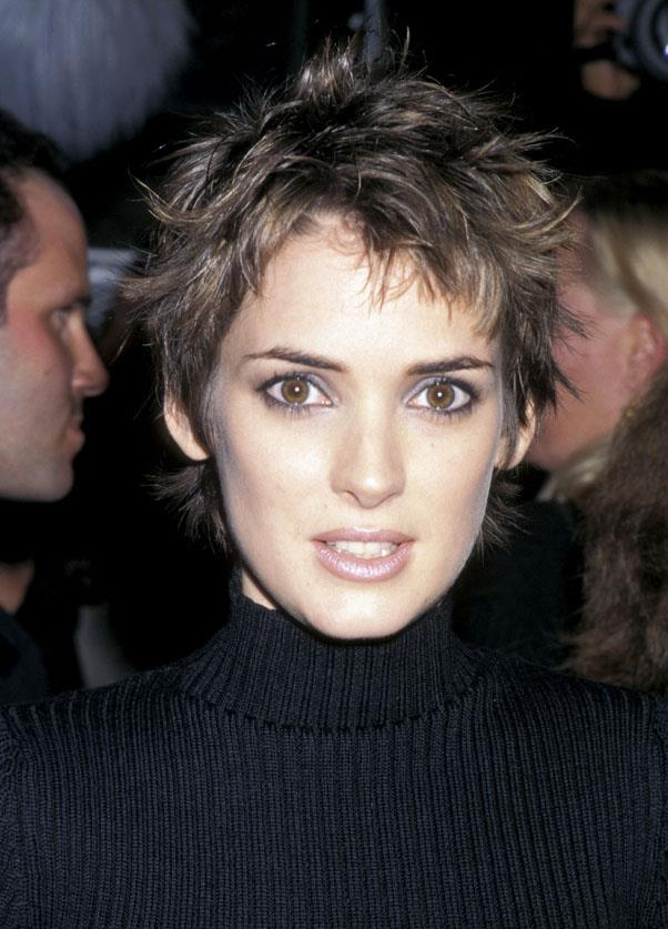 <strong>1997: SPIKY PIXIE</strong> <br><br> The '90s saw a chic, edgy style of pixie come into focus after Winona Ryder debuted her cool look in 1997.
