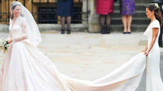 Kate Middleton Wedding Dress Controversy