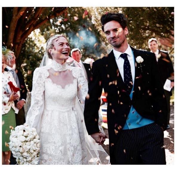 Pandora Sykes Fashion Editor Wedding