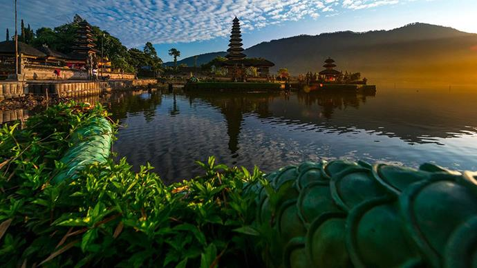<strong>5. Bali, Indonesia </strong> <br><br> <strong>What to do: </strong> Watch the sunrise from Mount Batur Volcano, partake in a yoga retreat in Ubud and visit the Tirta Gangga gardens, located in the former Royal Palace.