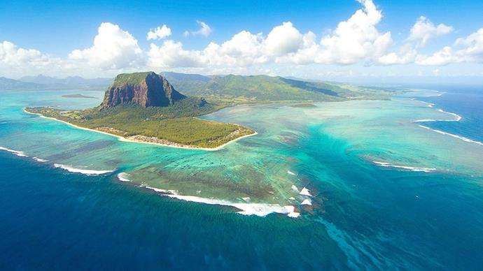 <strong>7. Mauritius, Africa</strong> <br><br> <strong>What to do:</strong> Feast on the culinary delights that are on offer before walking it off with a hike to Trou d'Argent Beach.