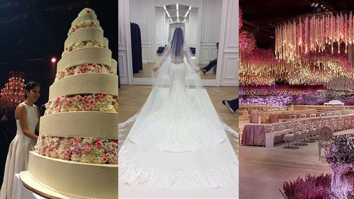 An inside look at the most extravagant weddings to date.