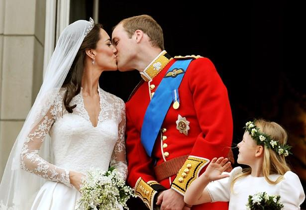 That time we all awkwardly perved on their wedding kiss.