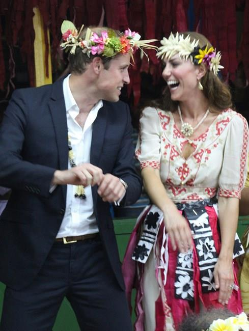That time they both looked pretty cute wearing flower crowns.