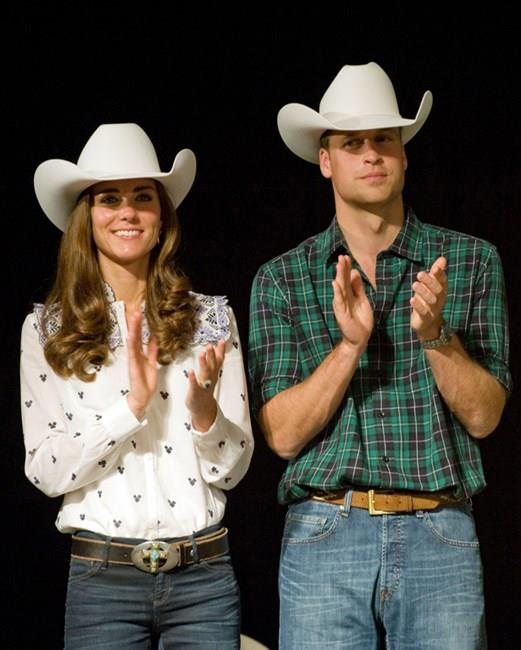 That time they inexplicably got their cowboy on.