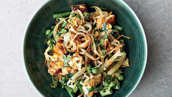 gwyneth paltrow singapore rice noodles recipe