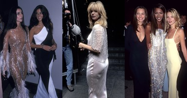 22 Glamorous Throwback Photos From The Met Gala