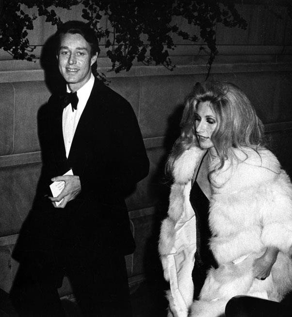 Halston and Baby Jane Holzer , 1973
