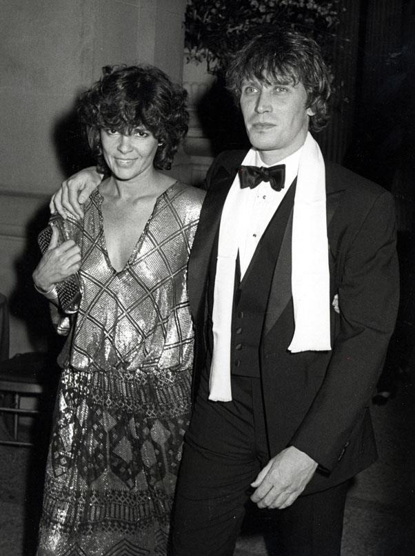 Ali MacGraw and boyfriend Peter Weller, 1979
