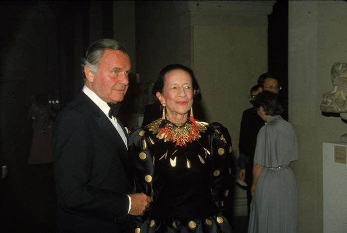 Bill Blass and Diana Vreeland, 1981
