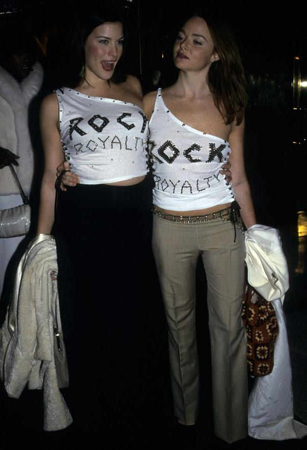 Liv Tyler and Stella McCartney, 1999