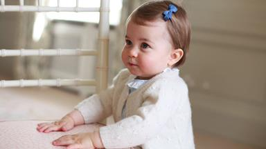 The Royal Palace Release Adorable Portraits Of Princess Charlotte