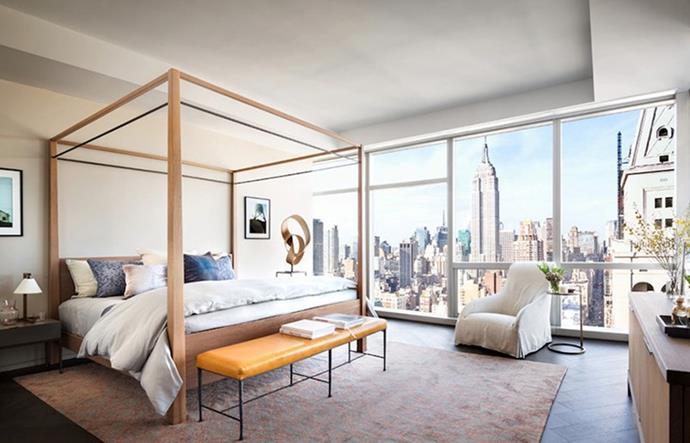 """Gisele Bundchen, via <a href=""""http://www.lonny.com/Tom+Brady+and+Gisele+Bundchen's+NYC+Apartment"""">Lonny</a>."""