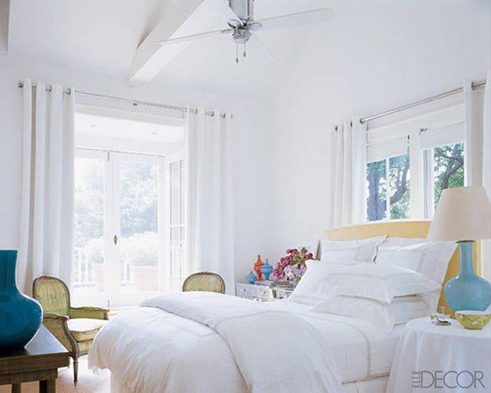 "Sarah Jessica Parker, via <a href=""http://www.elledecor.com/celebrity-style/celebrity-homes/g1594/the-comfort-factor/"">ELLE Decor</a>."