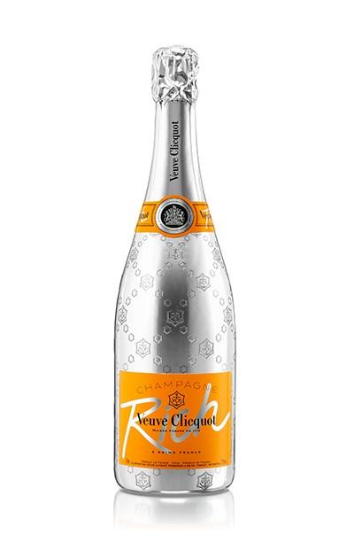 """Veuve Clicquot 'RICH', $102, <a href=""""http://www.selfridges.com/AU/en/cat/veuve-clicquot-rich-champagne-750ml_414-82008469-1067212/"""">Selfridges.com</a>, or bottle stores throughout Australia"""