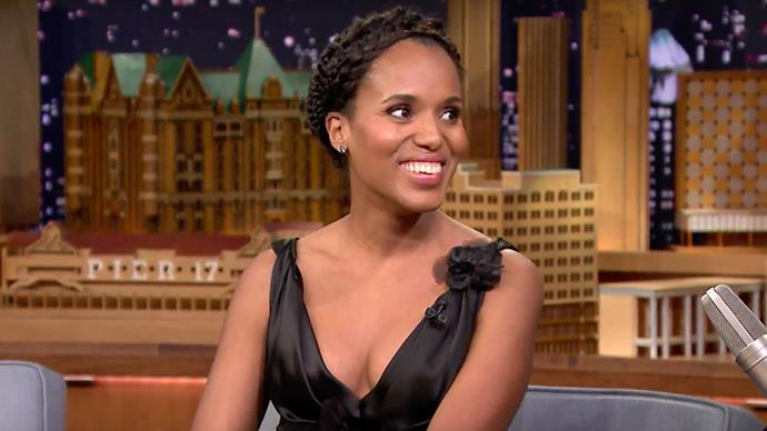 Kerry Washington Pregnant