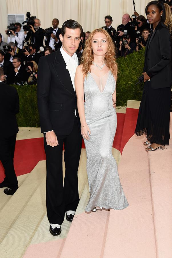 Mark Ronson and Josephine de la Baume