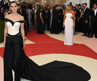 Emma Watson 2016 Met Gala Recycled Gown