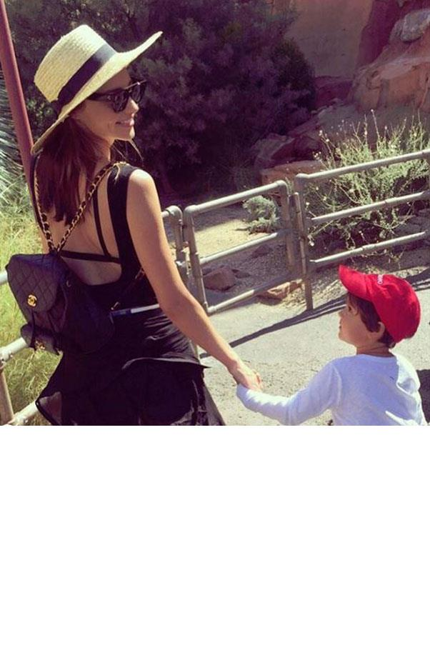 "<strong>Miranda Kerr</strong><br><br> <strong>This Mother's Day I will be...</strong><br><br> Spending the day with my little man Flynn.  We love to draw together and play hide and go seek (it's his favourite game right now!) <br><br> Picture: Instagram <a href=""https://www.instagram.com/p/5qsR3bEMOn/"">@mirandakerr</a>"