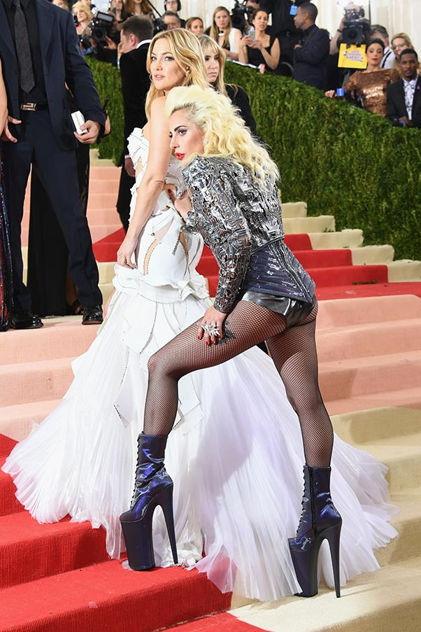 Kate Hudson and Lady Gaga