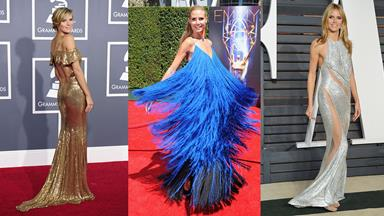 25 Times Heidi Klum Looked Amazing On the Red Carpet