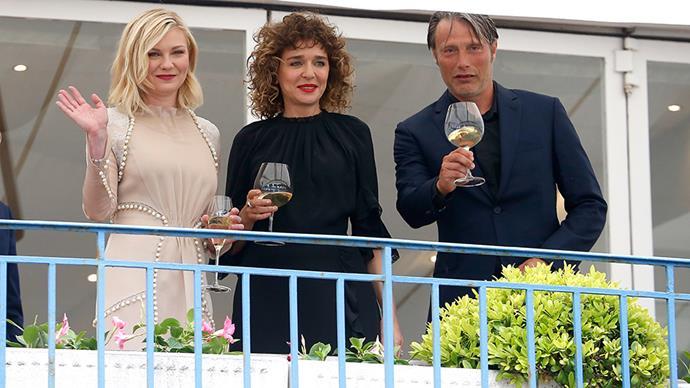Kirsten Dunst, Valeria Golino and Mads Mikkelsen