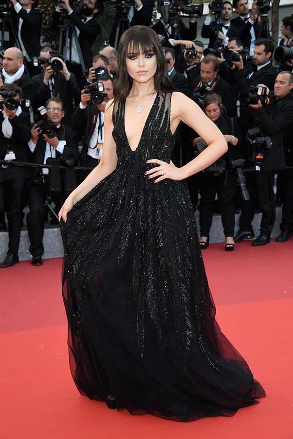 Kristina Bazan at the premiere of <em>Money Monster</em>