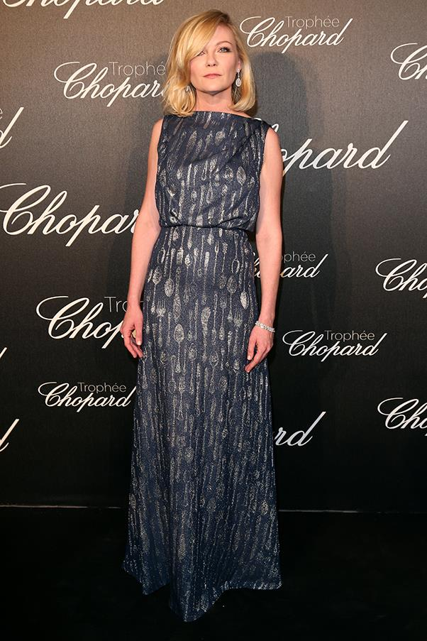 Kirsten Dunst at the Chopard Trophy ceremony