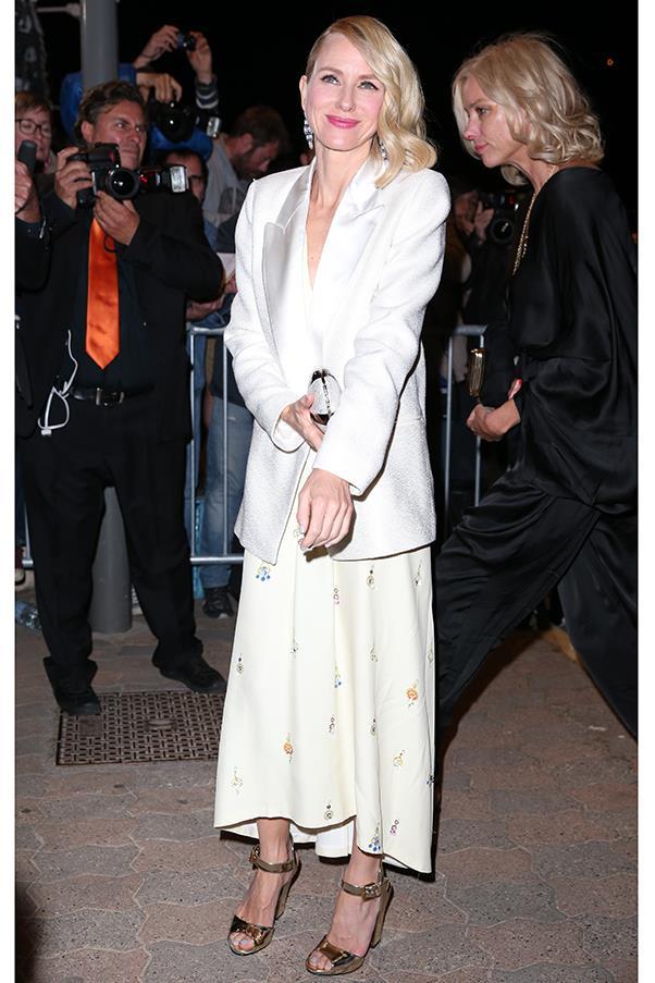 Naomi Watts at a <em>Vanity Fair</em> dinner