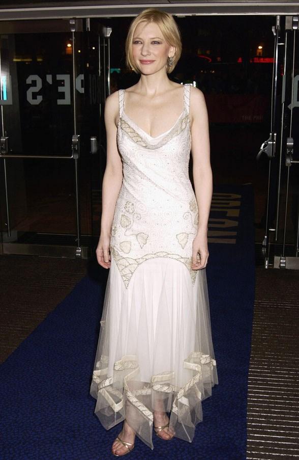 At a premiere of <em>Charlotte Gray</em>, 2002