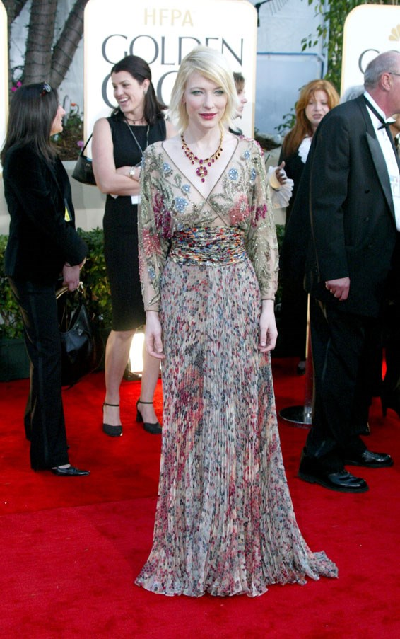 At the Golden Globe Awards, 2003