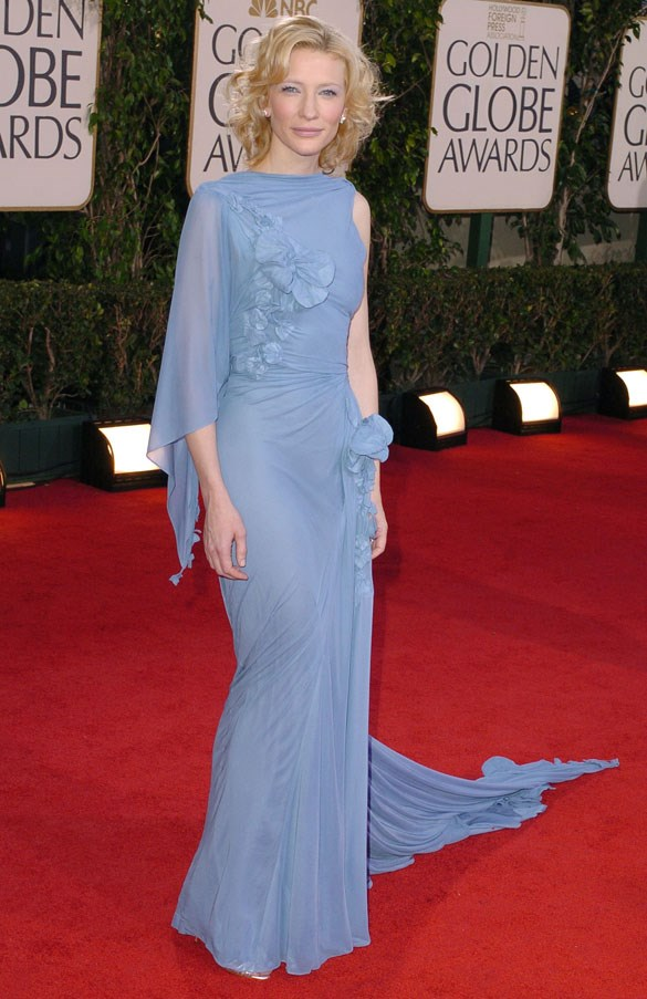 At the Golden Globes, 2005