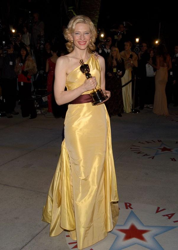 At the <em>Vanity Fair</em> Oscar after party, 2005