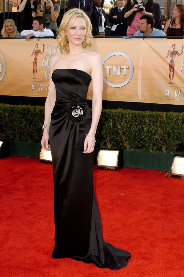 At the Screen Actor's Guild awards, 2005