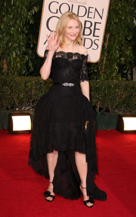 At the Golden Globes, 2007