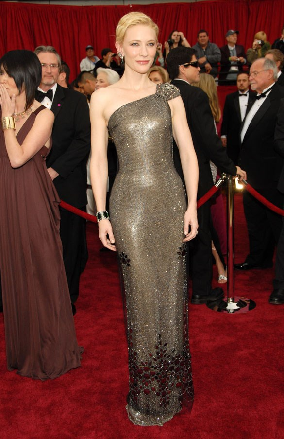 In Armani Privé at the Academy Awards, 2007
