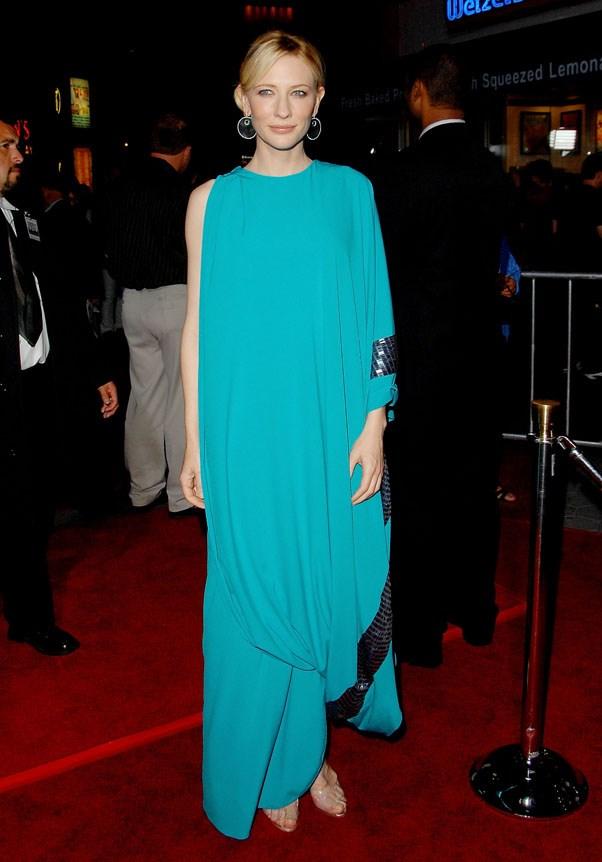 At the premiere of <em>Elizabeth: The Golden Age</em>, 2007