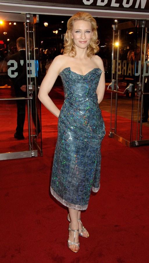At the UK premiere of <em>Elizabeth: The Golden Age</em>, 2007